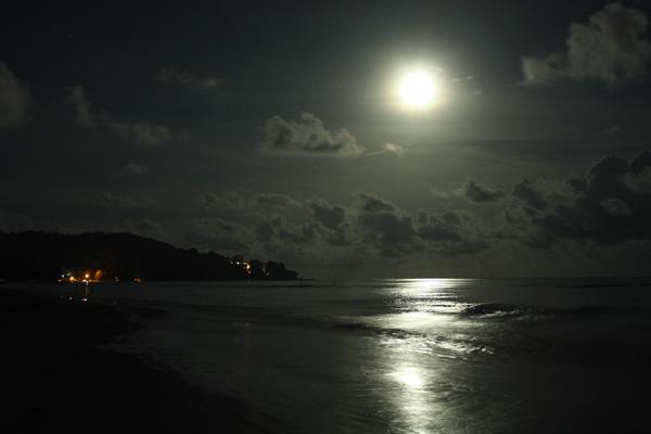 Pesca Nocturna con Mosca por José Manuel López Pinto Moon