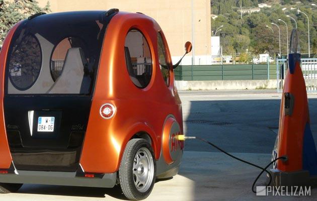 Automobil koji radi na vazduh Airpod2