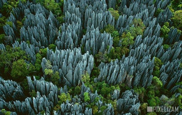 Najlepši nacionalni parkovi sveta Tsingy-de-Bemaraha