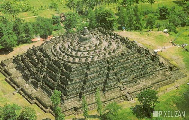 Najlepši hramovi na svetu Borobudur