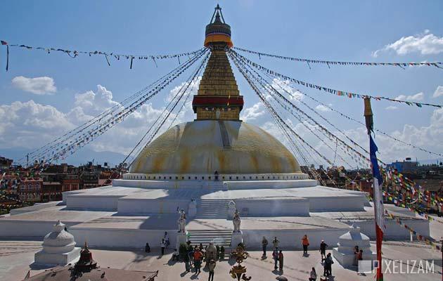Najlepši hramovi na svetu Boudhanath