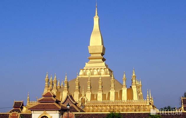 Najlepši hramovi na svetu Pha-That-Luang