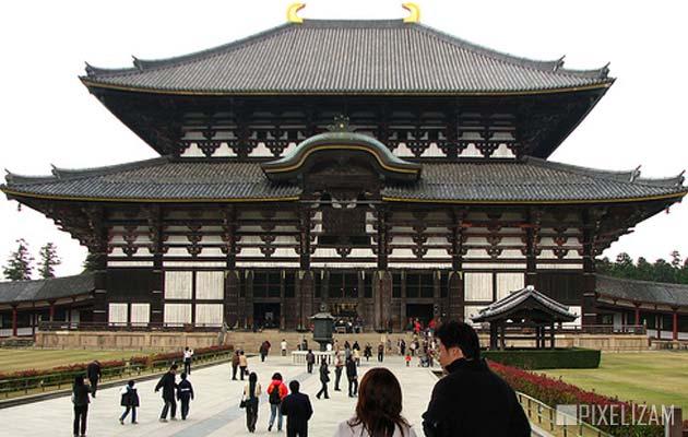 Najlepši hramovi na svetu Todaiji-hram
