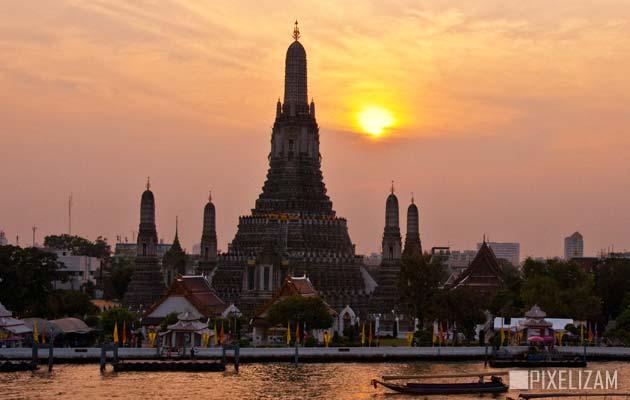 Najlepši hramovi na svetu Wat-Arun