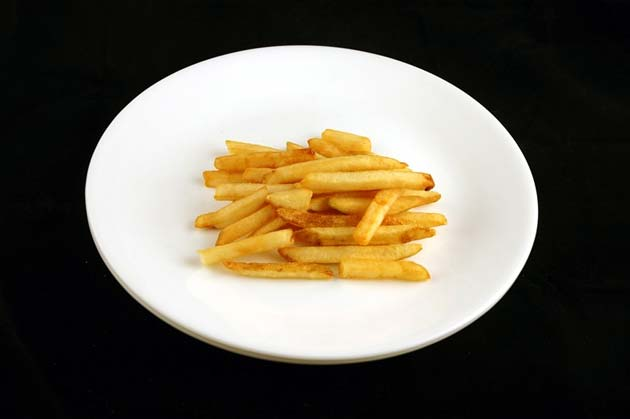 O  kalorijama .... Pomfrit