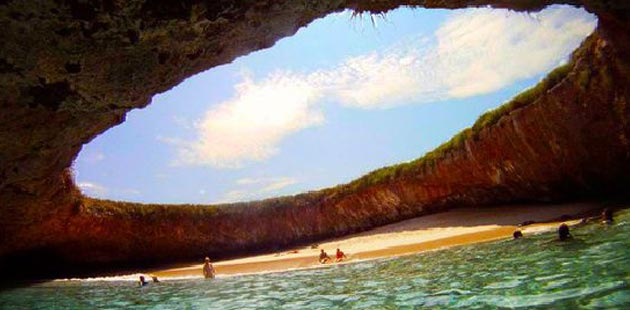 Najčudnije plaže na svetu  Skrivena-plaza