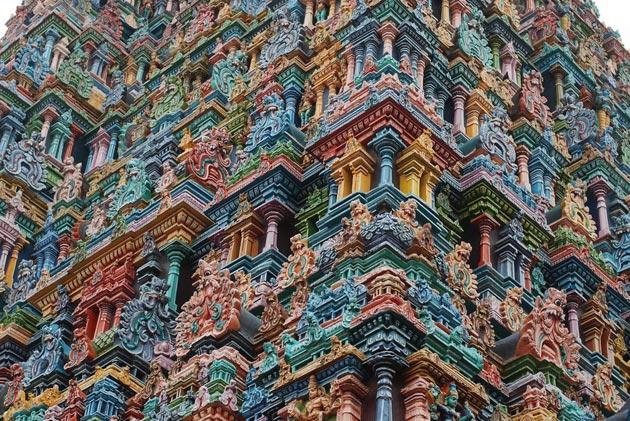 Najlepši hramovi na svetu Meenakshi-Amman5