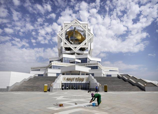 Turkmenistan Asgabat-14