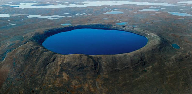 Krateri na Zemlji Pingualuit-krater