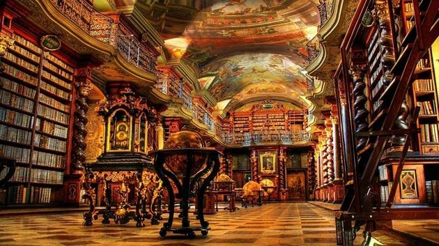Najlepše biblioteke na svetu - Page 3 Klementinum-biblioteka-1