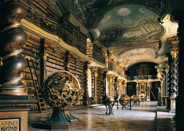 Najlepše biblioteke na svetu - Page 3 Klementinum-biblioteka-2