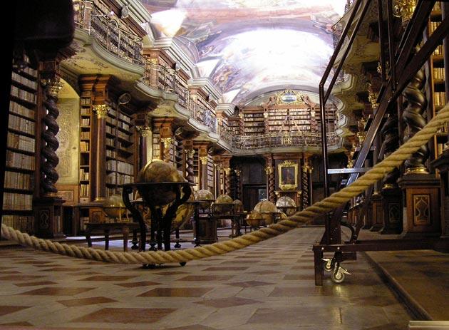 Najlepše biblioteke na svetu - Page 3 Klementinum-biblioteka-5