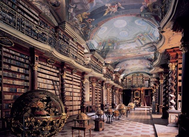 Najlepše biblioteke na svetu - Page 3 Klementinum-biblioteka-7
