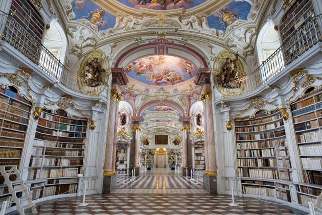 Najlepše biblioteke na svetu - Page 3 Stift-Admont-1