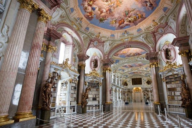 Najlepše biblioteke na svetu - Page 3 Stift-Admont-2