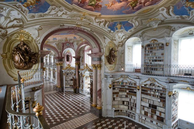 Najlepše biblioteke na svetu - Page 3 Stift-Admont-3