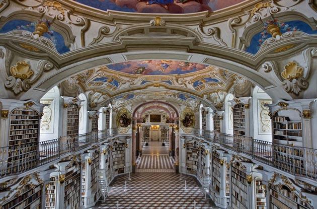 Najlepše biblioteke na svetu - Page 3 Stift-Admont-8