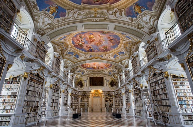 Najlepše biblioteke na svetu - Page 3 Stift-Admont-9