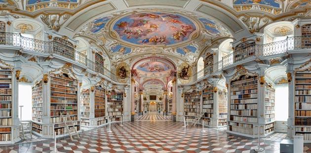 Najlepše biblioteke na svetu - Page 3 Stift-Admont