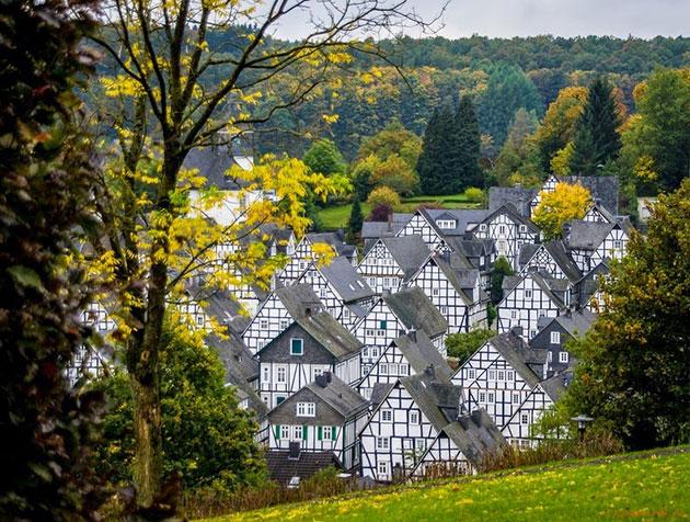 Freudenberg: Bajkoviti gradić u Njemačkoj Freudenberg-1
