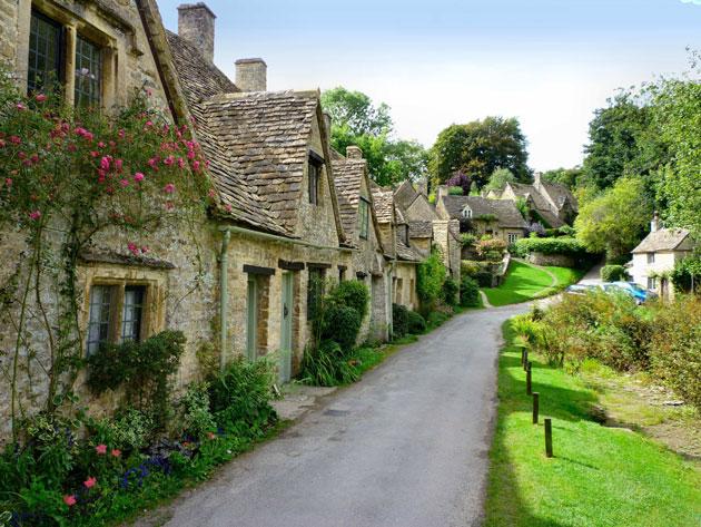 Najlepša sela na svetu Bibury-1