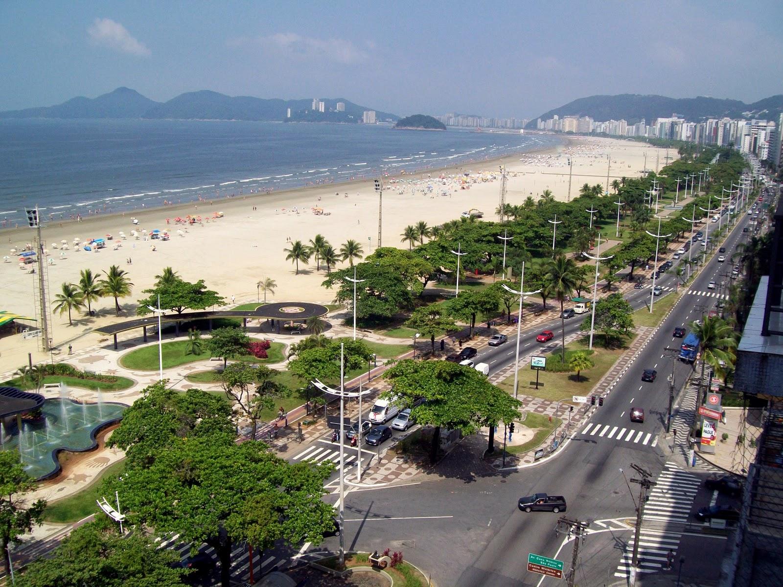 Brazil - Page 15 Beach-Santos
