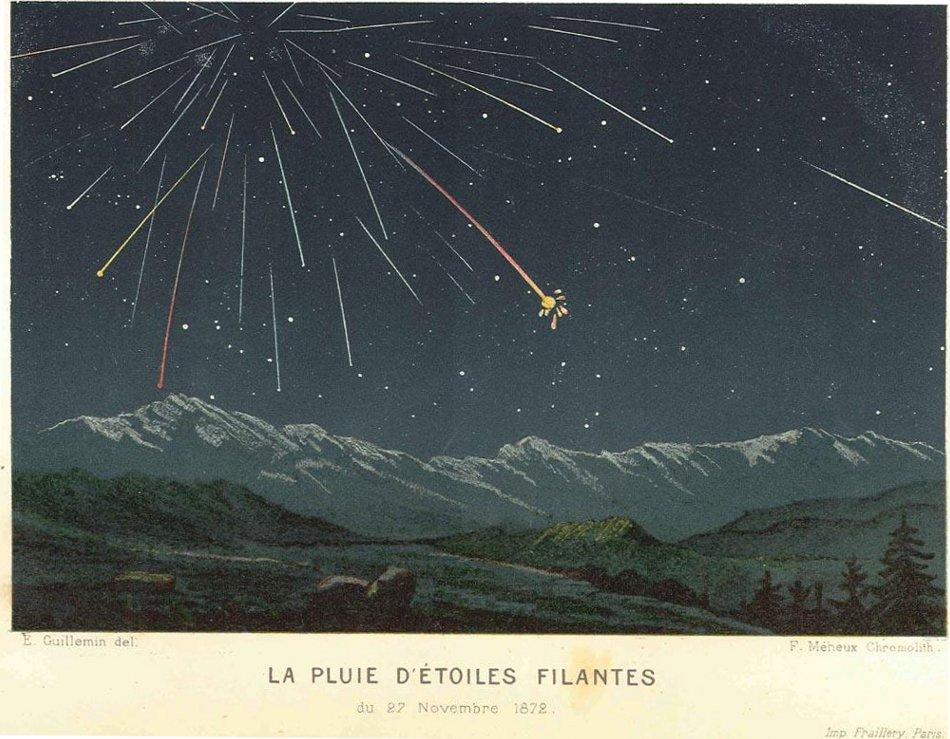 """Les """"Stupid Zèbres"""" c'est nous... - Page 2 Pluie-etoiles-filantes-1872-Guillemin"""