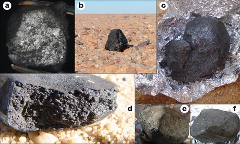 Rentrée d'astéroide prévue 2008TC3-meteorite
