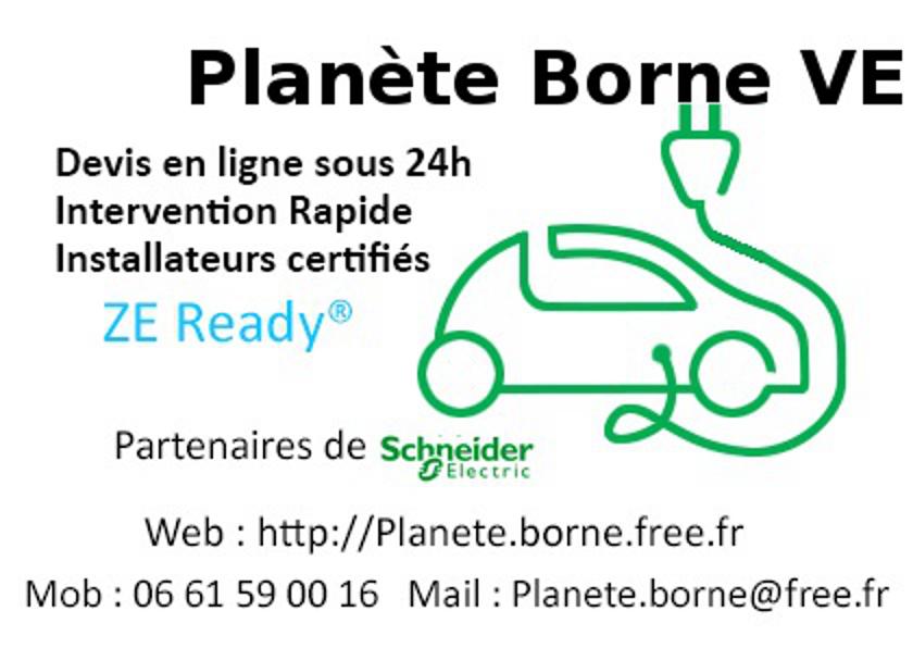 Planète Borne VE étudie préconise et installe la gamme EVLINK Flyer-pbve