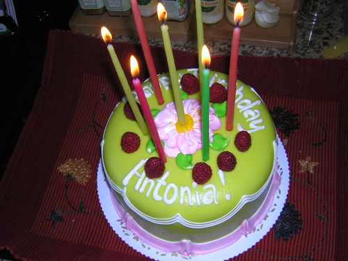 Happy Birthday, Antonia! Cake