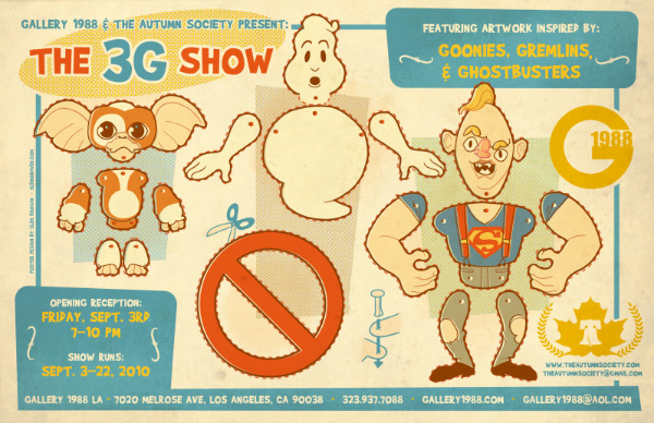 Les jouets en papier 3g-poster