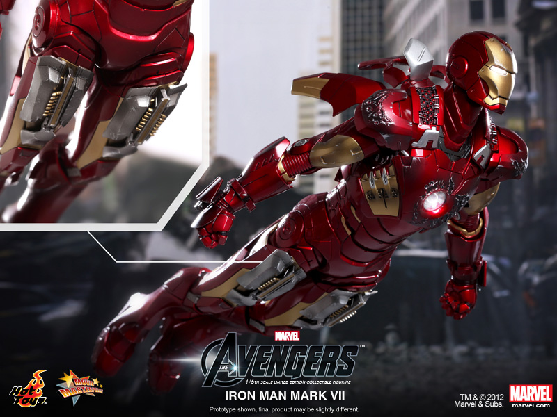 [Hot Toys] The Avengers - Iron Man Mark VII - 1/6 scale | Fotos <OMG> págs. 43 e 44 - Página 40 Hot-Toys-The-Avengers-Mark-VII-3