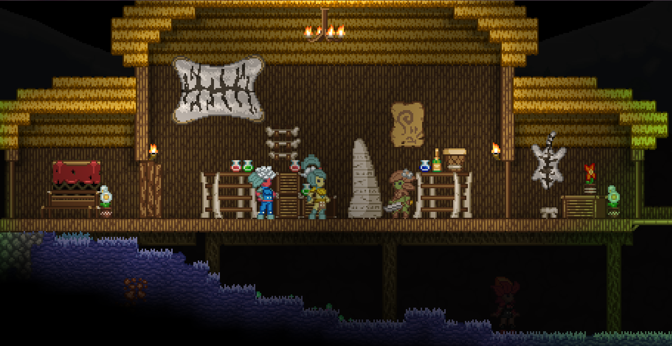 Starbound News 03/04 Floranvillage3