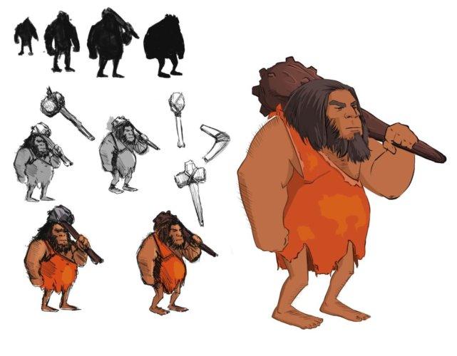STDP- The Multiverse [Demo Disponível] Neandertal-Large-e1498167241217