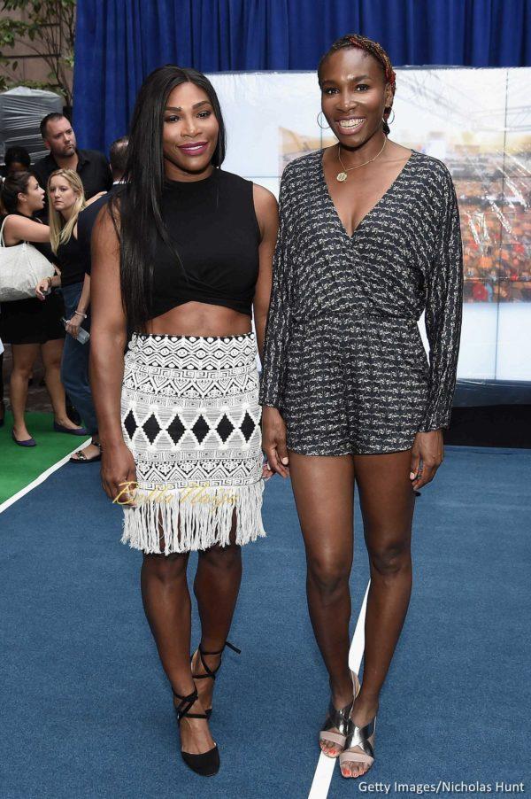 ¿Cuánto mide Serena Williams? - Altura - Real height Serena-Williams-Venus-Williams-Taste-of-Tennis-Event-August-2016-BellaNaija-2-600x902