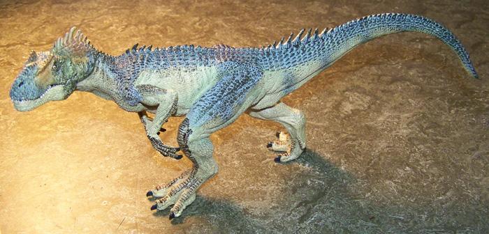 Jurassic Park V Toys Teased Papo_allosaurus1