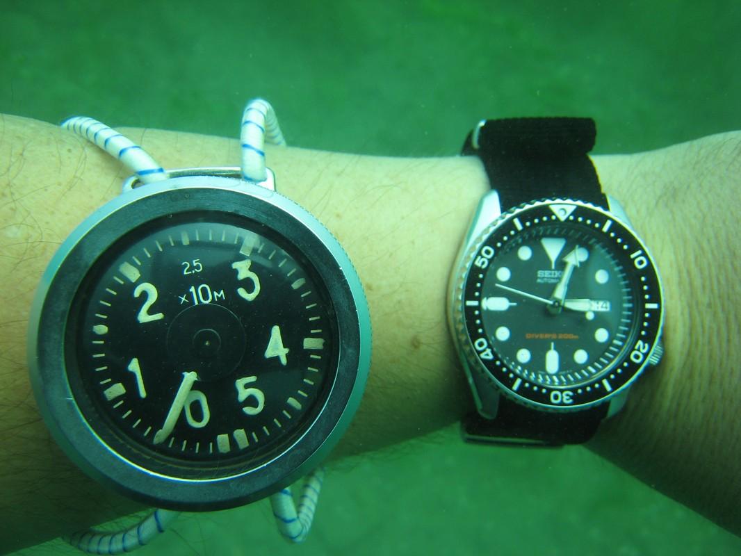 je plonge avec une montre dans la baignoire et ailleurs Img_0343web