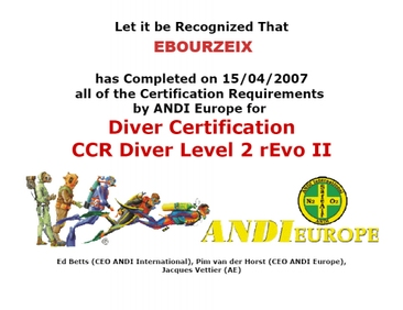 Formations ; Label TDI, IANTD, PADI, FFESSM ... et formateurs ... Diplomeweb2