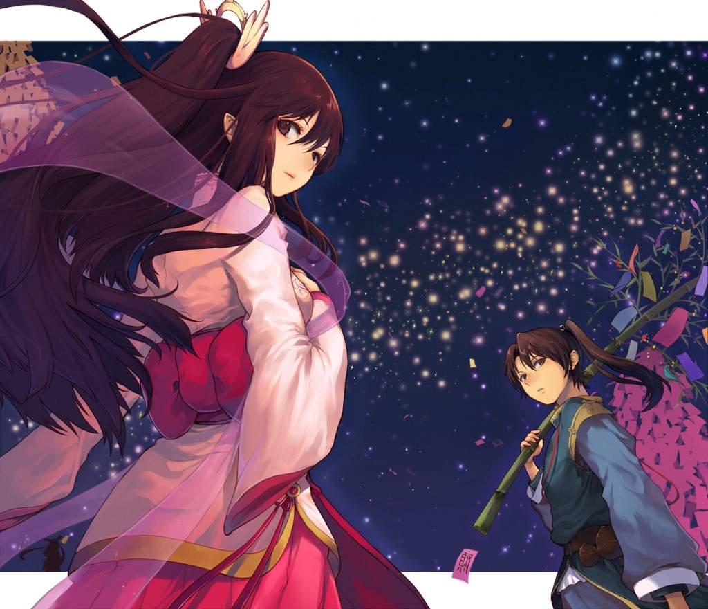 [Tradition] Tanabata ~ (七夕) 772dc7478efef72fced79bcb327586b29088cdb6_hq