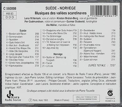 Scandinavie 257088