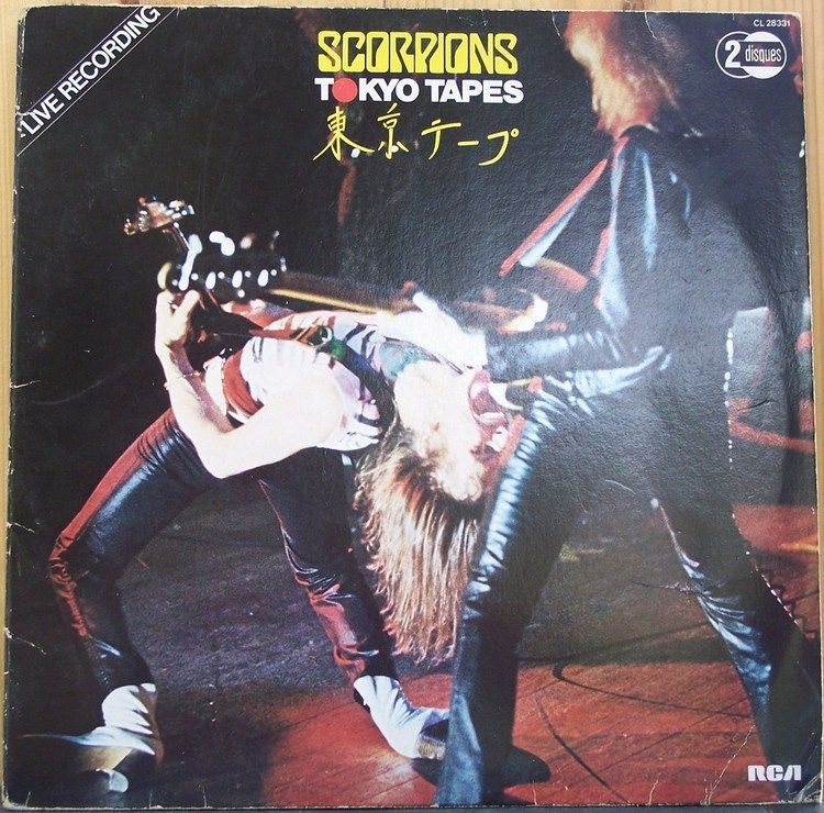SCORPIONS - Tokyo Tapes - 1978-[ Hard Rock] 854299848