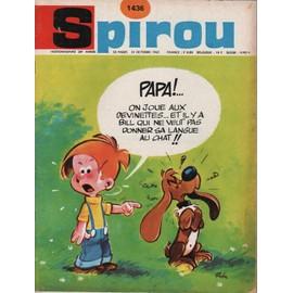 Devinette du 23 février 2013 Collectif-Spirou-N-1436-Papa-Bill-Neveut-Pas-Donner-Sa-Langue-Au-Chat-Revue-844430405_ML