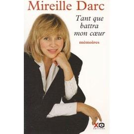 Mireille Darc Darc-Mireille-Tant-Que-Battra-Mon-Coeur-Livre-910967814_ML