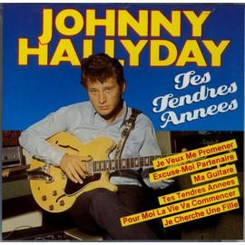 Les grands de la chanson française Hallyday-Johnny-Tes-Tendres-Annees-Pressage-World-Music-Wm-88028-16-Titres-CD-Album-684847895_ML