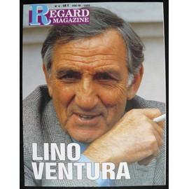 Lino Ventura 1994 Regard Magazine n°8 Regard-magazine-n-8-n-8-lino-ventura-revue-857469817_ML