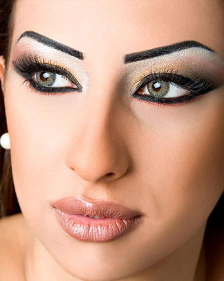 البوم صور ماكياج جميلات عربيات .. كثير حلو 3mV28391