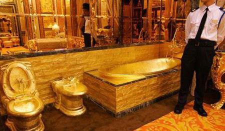 بيت كامل من الذهب  311