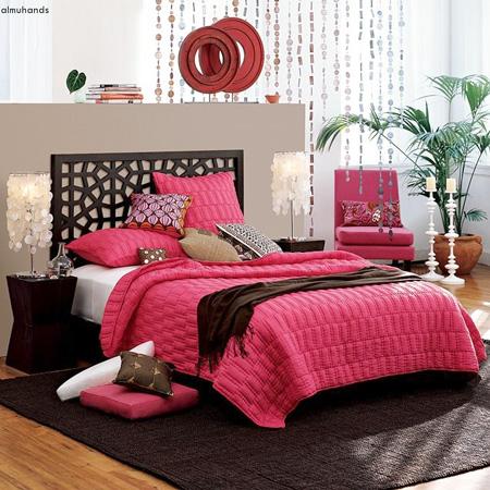 أفكار لغرف النوم رومانسية وهادية 6_7