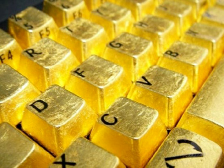 لوحة مفاتيح من الذهب الخالص 11_6