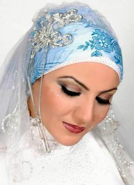اجمل مكياج للعروس المحجبة 10_16